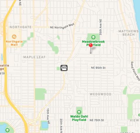 Map of MLLC neighborhood
